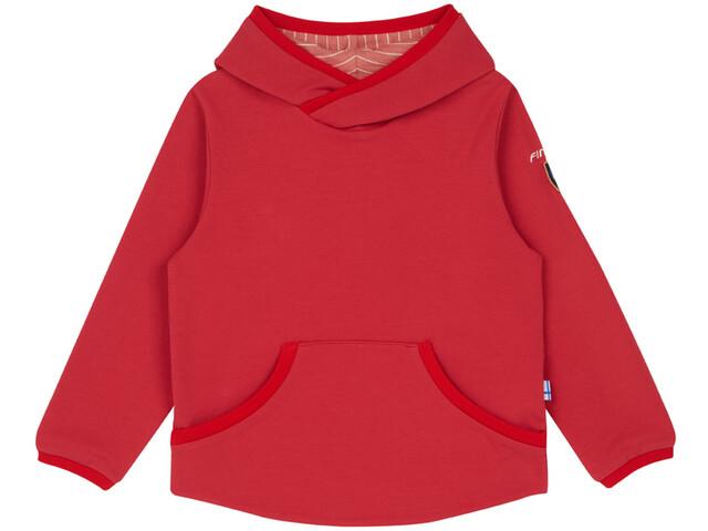 Finkid Pikku Pusero - Couche intermédiaire Enfant - rouge